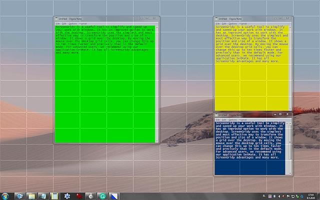 ScreenGridy full screenshot